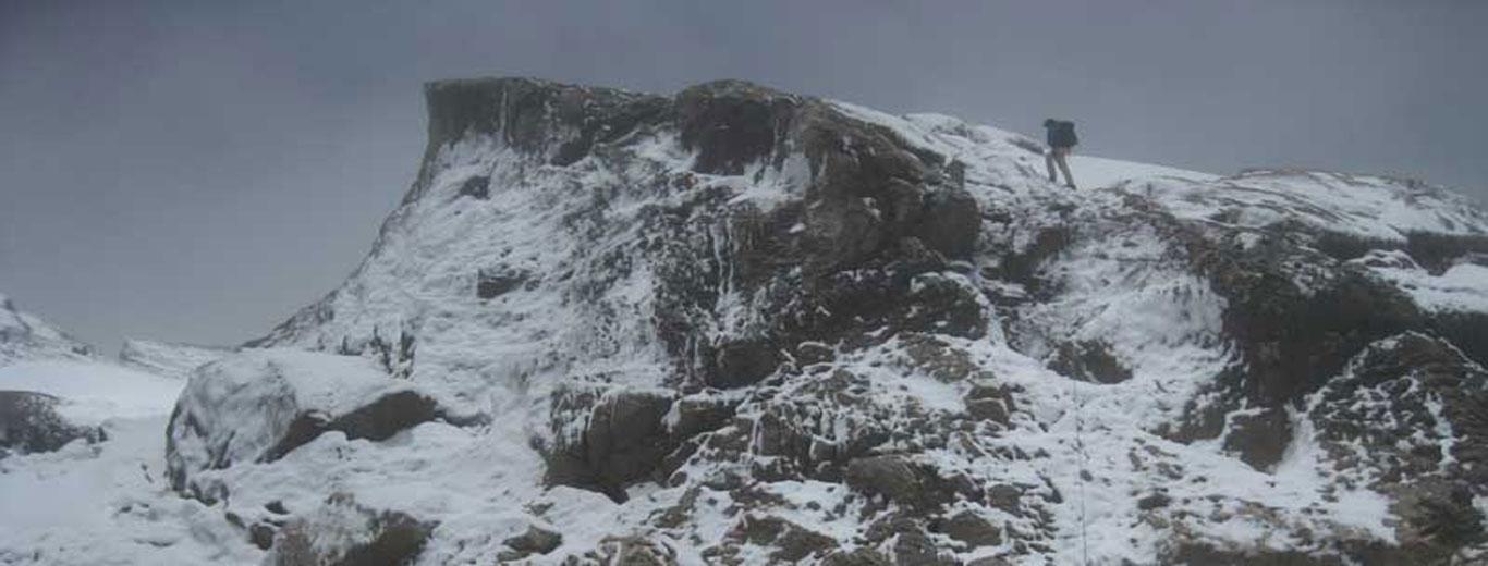 Mount Trikora Expedition